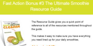 10-Day Green Smoothie Cleanse bonus