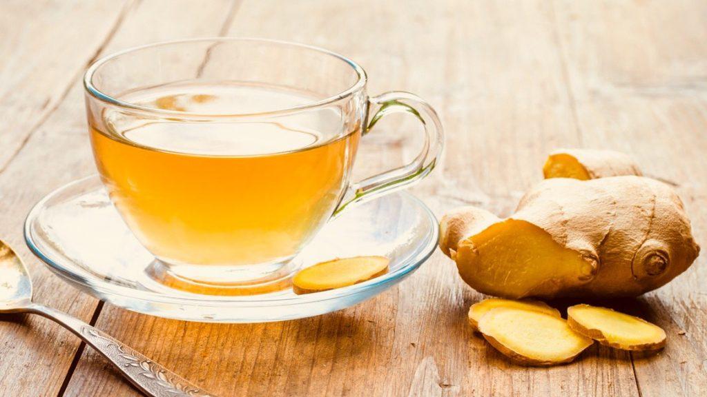 ginger detox teas for fertility cleanse